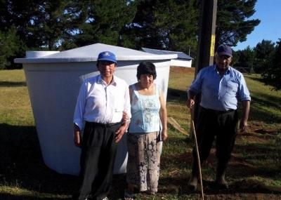 Vecinos De Sectores Rurales Recibieron Estanques De