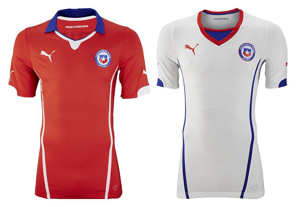 Presentan la camiseta de Chile para el Mundial de Brasil  1f7156edc9f25