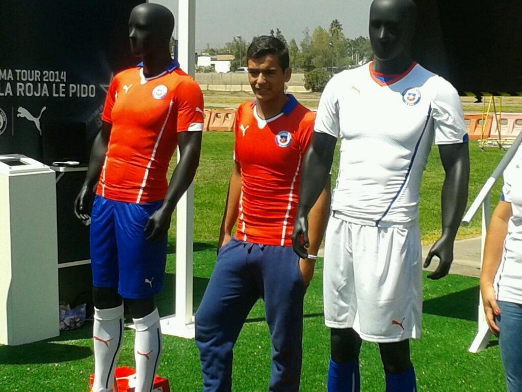 Camiseta de Chile en el Mundial Brasil 2014 c4de62fb12e75